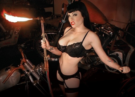 Girl Cutting Torch Lingerie.jpg
